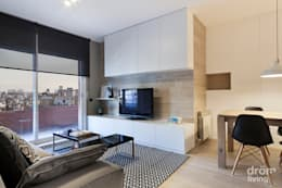 Salas / recibidores de estilo  por Dröm Living