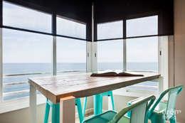 mediterranean Dining room by Dröm Living