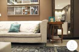 modern Living room by EDW Design de Interiores | LightDesign