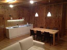 Salas de jantar minimalistas por Studio Zazzi