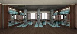 aziatische Fitnessruimte door Kerim Çarmıklı İç Mimarlık