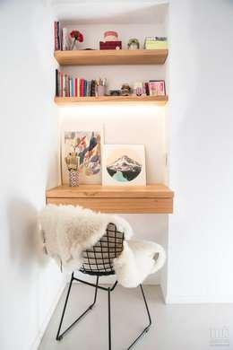 Departamento CONESA: Estudio de estilo  por Trua arqruitectura