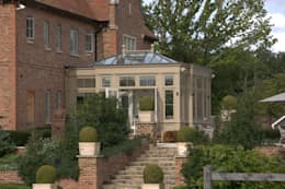 Orangery side view. : modern Conservatory by Westbury Garden Rooms