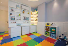modern Nursery/kid's room by Duplex Interiores