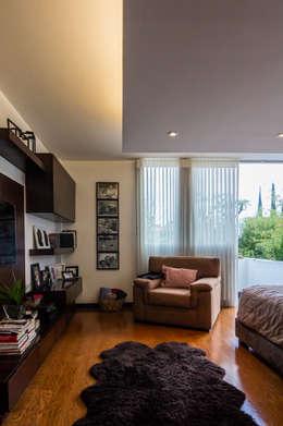Habitaciones de estilo moderno por aaestudio
