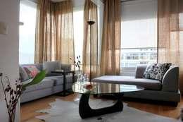 Departamento Palermo: Livings de estilo moderno por Trua arqruitectura