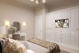 Квартира в жилом доме на ул. Ленина: Спальни в . Автор – Студия авторского дизайна ASHE Home