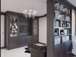 Estudios y despachos de estilo clásico por Студия авторского дизайна ASHE Home