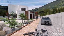 منازل تنفيذ TOV.ARQ Estudio de Arquitectura y Urbanismo