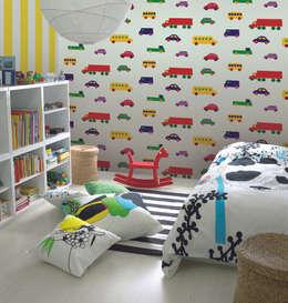 HannaHome Dekorasyon  – Çizgi kahramanların hayat bulduğu odalar…: modern tarz Çocuk Odası