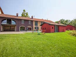 B&B Borgo Merlassino: landelijke Huizen door Mosaic del Sur België - Nederland
