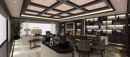 Projekty,  Salon zaprojektowane przez Kerim Çarmıklı İç Mimarlık
