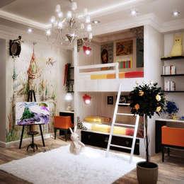 MYRUGS: modern Nursery/kid's room by MYRUGS.IN