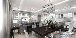غرفة السفرة تنفيذ ArtCore Design