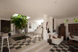 Jardines de estilo moderno por SDHR Arquitectura