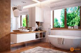 Baños de estilo escandinavo por Art-i-Chok