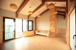 Casas de estilo moderno por 집스터디 건축 스튜디오_JIP STUDY ARCHITECTS STUDIO
