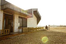 Дома в . Автор – 집스터디 건축 스튜디오_JIP STUDY ARCHITECTS STUDIO