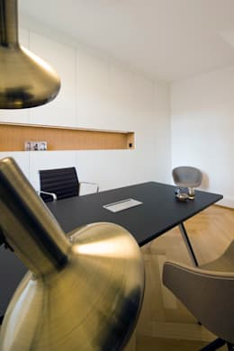 modern Study/office by interior.architects.munich