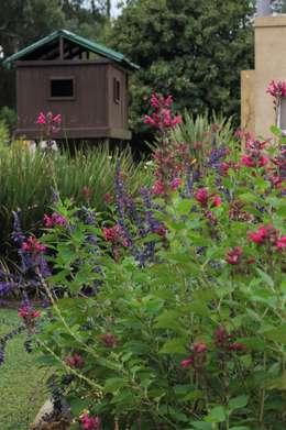 Quinta privada: Jardines de estilo moderno por LAS MARIAS casa & jardin