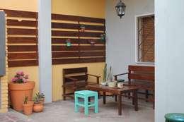 حديقة تنفيذ LAS MARIAS casa & jardin