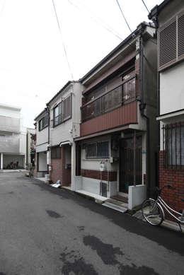 以前の外観: atelier mが手掛けた家です。