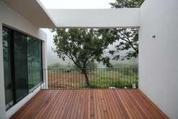 Projekty,  Taras zaprojektowane przez IEUNG Architect