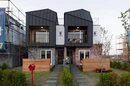 김포한강 하니카운티: 리슈건축 의  주택