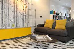 Projekty,  Salon zaprojektowane przez MOBIMAR INTERIORISMO