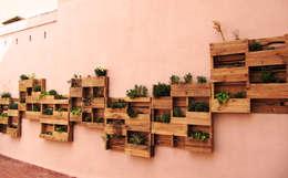 Terrazas de estilo  por Aida Lopez Paisajista