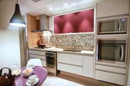 Projekty,  Kuchnia zaprojektowane przez MeyerCortez arquitetura & design