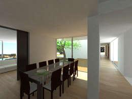 Projekty,  Jadalnia zaprojektowane przez Carlos Fazenda, arquitectos