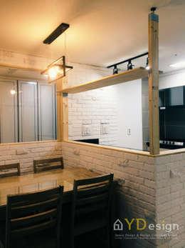 Projekty,  Kuchnia zaprojektowane przez YDesign