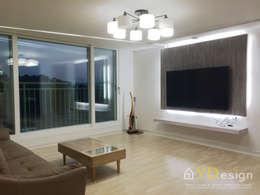Projekty,  Salon zaprojektowane przez YDesign