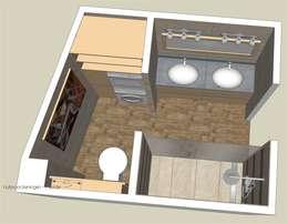 Ванные комнаты в . Автор – Sfeerontwerp | créateur d'atmosphère