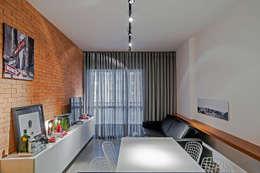 Comedores de estilo moderno por Studio Boscardin.Corsi Arquitetura