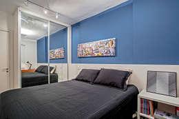 Dormitorios de estilo  por Studio Boscardin.Corsi Arquitetura
