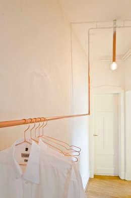 Projekty,  Garderoba zaprojektowane przez Studio DLF