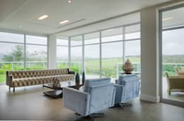 modern Living room by Fábrica Arquitetura