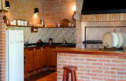 بيت زجاجي تنفيذ Carbone Fernandez Arquitectos