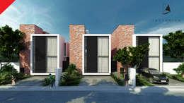 minimalistic Houses by Tectónico