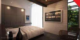 minimalistic Bedroom by Tectónico