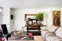 Antonio Martins Interior Design Inc: eklektik tarz tarz Oturma Odası