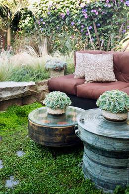 Jardin de style de style eclectique par Antonio Martins Interior Design Inc