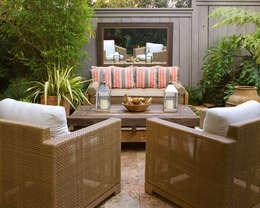 Giardino in stile in stile Eclettico di Antonio Martins Interior Design Inc