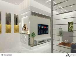Origami Residence:   by Archemist Architects