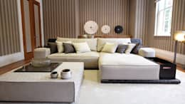Keir Townsend Ltd.: modern tarz Oturma Odası