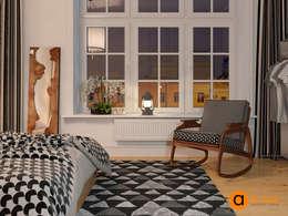 Скандинавское кружево: Спальни в . Автор – Art-i-Chok
