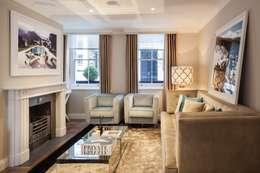 Londres . Interdesign: Sala de estar  por Interdesign Interiores