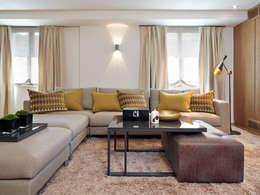 mediterranean Living room by Molins Interiors